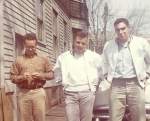 Neal Wellins, Mark Levin and Hank Rosen hanging out in 1961.  Neal was the first kid to get a smart phone.