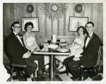 Junior Prom Hillhouse 1960.  Left to right Maurice Perlman, Ann Climo (Birk), Susan Stamm (class of 1962), Peter Levitin