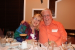 Mimi Hubelbank Bloch and her husband Beryl at the 53rd reunion